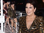 Kris Jenner and Kendall Jenner go to Magnum party in Cannes, France.  Pictured: Kris Jenner, Kendall Jenner Ref: SPL1280979  120516   Picture by: Splash News  Splash News and Pictures Los Angeles: 310-821-2666 New York: 212-619-2666 London: 870-934-2666 photodesk@splashnews.com