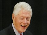 Former President Bill Clinton arrives to speak while campaigning for his wife, Democratic presidential candidate Hillary Clinton, Friday, May 13, 2016, at Passaic County Community College in Paterson, N.J. (AP Photo/Julio Cortez)