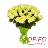 Букет из 25 белых роз №98
