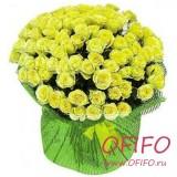 Букет из 101 желтой розы №148