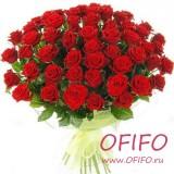 Букет из 25 красной розы №134
