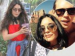 Picture Shows: Vanessa Hudgens  May 12, 2016    Actress Vanessa Hudgens spotted out and about in West Hollywood, California. She was wearing a red playsuit with a denim jacket tied around her waist.     Non Exclusive  UK RIGHTS ONLY    Pictures by : FameFlynet UK © 2016  Tel : +44 (0)20 3551 5049  Email : info@fameflynet.uk.com