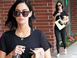 "Exclusive... 52055683 Pregnant actress Megan Fox is seen leaving her doctor's office in Beverly Hills, California on May 13, 2016. During the outing Megan told the photograher that she was ""feeling sick."" Megan and her husband Brian Austin Green recently discovered that they were pregnant with their third child and are trying to work things out with their struggling relationship. FameFlynet, Inc - Beverly Hills, CA, USA - +1 (310) 505-9876"