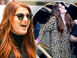 New York, NY - Meghan Trainor seen arriving at the Today show with a big smile for her waiting fans in New York City.\nAKM-GSI          May 13, 2016\nTo License These Photos, Please Contact :\nSteve Ginsburg\n(310) 505-8447\n(323) 423-9397\nsteve@akmgsi.com\nsales@akmgsi.com\nor\nMaria Buda\n(917) 242-1505\nmbuda@akmgsi.com\nginsburgspalyinc@gmail.com