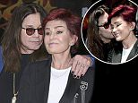 Sharon Osbourne, Ozzy Osbourne and Corey Taylor attend the Ozzy Osbourne and Corey Taylor Special Announcement on May 12, 2016 in Hollywood, California.  Pictured: Sharon Osbourne, Ozzy Osbourne Ref: SPL1280668  120516   Picture by: @Parisa/Splash News  Splash News and Pictures Los Angeles: 310-821-2666 New York: 212-619-2666 London: 870-934-2666 photodesk@splashnews.com