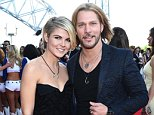 ARLINGTON, TX - APRIL 19:  Modeling Agent Taylor Borland (L) and singer-songwriter Craig Wayne Boyd attend the 50th Academy Of Country Music Awards at AT&T Stadium on April 19, 2015 in Arlington, Texas.  (Photo by Michael Buckner/ACM2015/Getty Images for dcp)