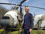 BNPS.co.uk (01202 558833) Pic: PhilYeomans/BNPS Ultimate Heli-pad for a holiday - Campsite owner Stewart Dungey is hoping his new venture takes off - after turning a decommissioned Royal Navy helicopter into a unique holiday let. Stewart has spent £30,000 buying, transporting and converting a Cold War Westland Wessex chopper on his farm on the Isle of Wight With an Airstream caravan kitchen annex one side and a bedroom pod on the other the chopper now provides luxury accomodation for adventurous families.