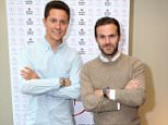 Mandatory Credit: Photo by Paul Greenwood/REX/Shutterstock (5683050a) Ander Herrera and Juan Mata Tapeo and Wine launch in partnership with Estrella Galicia, Manchester, Britain - 12 May 2016