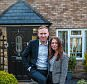 Aston Carter and Emma Shuker of Waltham Abbey who are saving money on mortgage costs to fund a marriage.