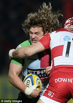 Competition: Harlequins' Luke Wallace