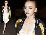 May th, 2016 - Cannes\n****** Exclusive ******\nThe Planetarium 17 year old actress Lily-Rose Depp showcased her already impeccable clothing sense in a white stylised dress matched with a baseball satin bomber jacket while leaving a private party during the Cannes Film festival 2016.\n****** No Web Usage before agreement ******\n******Please hide the children's faces prior to the publication******\n****** Stricly No Mobile Phone Application or Apps use without our Prior Agreement ******\nEnquiries at photo@spreadpictures.com
