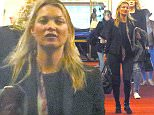 Exclusive... 52058525 Model Kate Moss is seen arriving at the airport in Nice, France on May 15, 2016. Kate's boytoy Count Nikolai Von Bismarck was not with her as she has reportedly kicked him out of her house for drinking blood. FameFlynet, Inc - Beverly Hills, CA, USA - +1 (310) 505-9876 RESTRICTIONS APPLY: USA ONLY