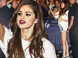 EXCLUSIVE: Selena Gomez greets hundreds of waiting fans after her Vancouver Revival Tour stop. Wearing some Daisy Duke short shorts and a Bon Jovi 'Keep The Faith' tour t-shirt, is it a silent protest at the Orlando Bloom PDA rumors? Selena didn't seem phased by the rumors as she greeted hundreds of fans after her Vancouver show.\n\nPictured: Selena Gomez\nRef: SPL1283460  160516   EXCLUSIVE\nPicture by: Splash News\n\nSplash News and Pictures\nLos Angeles: 310-821-2666\nNew York: 212-619-2666\nLondon: 870-934-2666\nphotodesk@splashnews.com\n