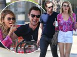 EXCLUSIVE. Coleman-Rayner. Los Angeles, CA, USA. \nMay 12, 2016\nBrandi Glanville and Dean Sheremet look super-affectionate as they enjoy a cozy lunch date at Mulberry Pizzeria in LA. The pair - who are teaming up for a new cooking competition, ëMy Kitchen Rulesí - spent two hours flirting heavily and Dean was seen caressing Brandiís face while also playfully grabbing her butt. Actor Dean, 35, was previously married to LeAnn Rimes before the country singer went on to marry Eddie Cibrian, who is Brandiís ex-husband.\nCREDIT LINE MUST READ: RF/Coleman-Rayner\nTel US (001) 310-474-4343 - office \nTel US (001) 323 545 7584 - cell\nwww.coleman-rayner.com