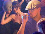 EXCLUSIVE ALL ROUNDER ***NO WEB*** Leonardo DiCaprio and Tobey Maguire are seen partying at the Gotha Club during the Cannes Film Festival\n17 May 2016.\nPlease byline: Vantagenews.com