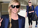 17 May 2016. Lara Stone arrives at Nice Airport Credit: GoffPhotos.com   Ref: KGC-149/37461 **UK Sales Only**