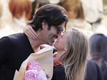 17.MAY.2016 - ROME - ITALY *AVAILABLE FOR UK SALE ONLY* **EXCLUSIVE ALL ROUND PICTURES** øAmerican actress Amy Smart and her husband Carter Oosterhouse buy flowers and kiss in the street as they enjoy a romantic holiday in Rome, Italy!   BYLINE MUST READ : CIAOPIX/XPOSUREPHOTOS.COM ***UK CLIENTS - PICTURES CONTAINING CHILDREN PLEASE PIXELATE FACE PRIOR TO PUBLICATION *** **UK CLIENTS MUST CALL PRIOR TO TV OR ONLINE USAGE PLEASE TELEPHONE  44 208 344 2007 ***