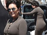 Kris Jenner is seen shopping at Dolce e Gabana Store on May 16, 2016 in Cannes, France. Photo BEESCOOP.COM exclusive