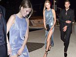 Picture Shows: Toni Garrn  May 16, 2016    Toni Garrn and her boyfriend are seen Out for the night in Cannes, France. The model was seen looking glamorous while wearing a bright blue evening gown.    Non Exclusive  UK RIGHTS ONLY    Pictures by : FameFlynet UK © 2016  Tel : +44 (0)20 3551 5049  Email : info@fameflynet.uk.com