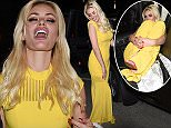 Picture Shows: Chloe Sims  May 16, 2016    Chloe Sims is seen on a night out leaving the Chopard Party in Cannes, France. The model and TV personality was seen wearing a yellow evening gown as the departed the party.    Non Exclusive  UK RIGHTS ONLY    Pictures by : FameFlynet UK © 2016  Tel : +44 (0)20 3551 5049  Email : info@fameflynet.uk.com