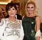CAP D'ANTIBES, FRANCE - MAY 17:  Kris Jenner (L) and Chloe Sims attend the de Grisogono party during the 69th Cannes Film Festival at Hotel du Cap-Eden-Roc on May 17, 2016 in Cap d'Antibes, France.  Photo Credit: Dave Benett