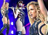 ATLANTA, GA - MAY 17:  Jennifer Lopez performs at  Qatar Airways Gala at the Fox Theatre on May 17, 2016 in Atlanta, Georgia.  (Photo by Moses Robinson/Getty Images for Qatar Airways)