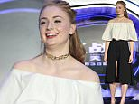 Mandatory Credit: Photo by Imaginechina/REX/Shutterstock (5689053l) English actress Sophie Turner 'X-Men: Apocalypse' press conference, Beijing, China - 18 May 2016