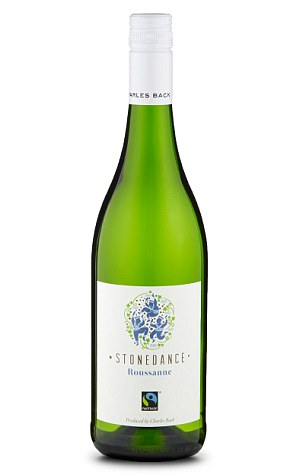 ThisCharles Back Stonedance Roussanne 2015, £10, right, is really refreshing and goes well with a classic dish of chorizo and scallops