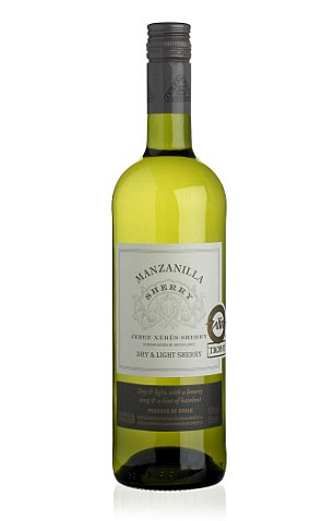 If you're not lucky enough to be jetting off to Spain this summer, bring a taste of the Mediterranean to your kitchen thanks to this tantalising pale bone dryManzanilla NV, £7.50, right