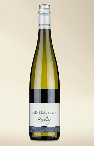 If you love rich flavours, you'll love this superbly modern and gold award-winning premiumMineralstein Riesling 2014, £10