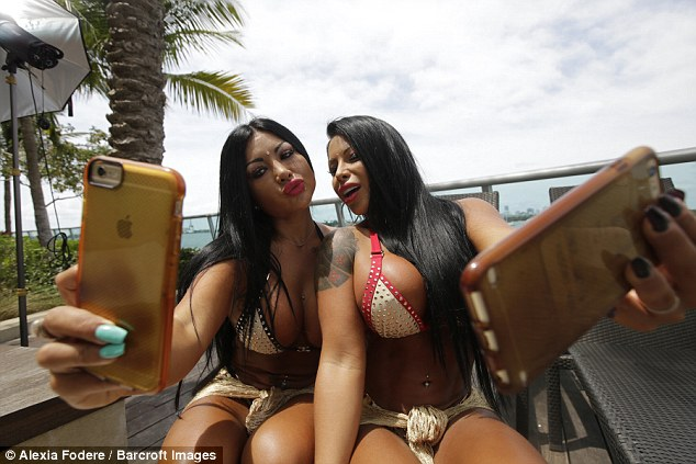 Dana claims they were blessed with their curvy bodies due to their Latin and Brazilian blood making it easy for them to keep their bottoms well-toned