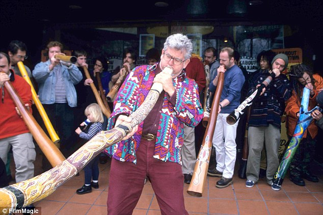 Paedophile Rolf Harris has been driving prison guards and fellow inmates crazy by playing a makeshift didgeridoo constructed from toilet rolls and matchsticks in his cell