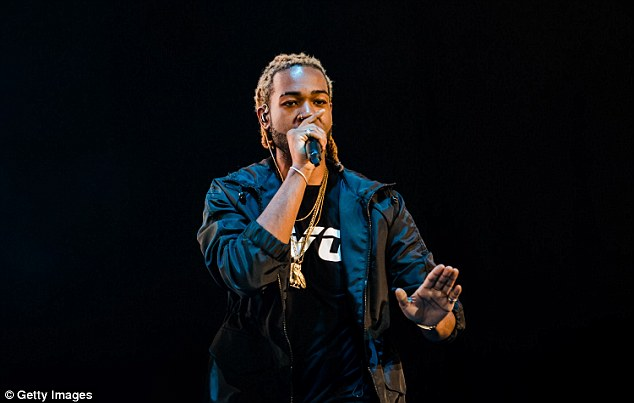 More than friends:Kylie has reportedly started dating Canadian rapper PartyNextDoor, 22, whose real name is Jahron Anthony Brathwaite (pictured August)
