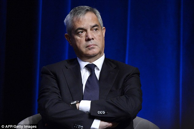 Patrick Calvar (pictured), the head of French internal intelligence, warned last week that ISIS was planning new attacks and France was still their number one target