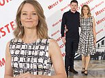 Picture Shows: Jack O'Connell, Jodie Foster  May 18, 2016    Director Jodie Foster and actor Jack O'Connell pose during a photo call held for their upcoming thriller film 'Money Monster' in Madrid, Spain.    Non Exclusive  UK, USA AND AUSTRALIA RIGHTS ONLY    Pictures by : FameFlynet UK © 2016  Tel : +44 (0)20 3551 5049  Email : info@fameflynet.uk.com