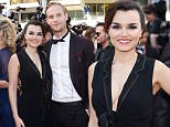 Mandatory Credit: Photo by David Fisher/REX/Shutterstock (5686564d)\nSamantha Barks and Jack Fox\n'Julieta' premiere, 69th Cannes Film Festival, France - 17 May 2016\n