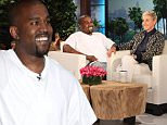 eURN: AD*206774371  Headline: KANYE WEST joins The Ellen DeGeneres Show?  on Thursday, May 19th Caption: Grammy winner and fashion designer KANYE WEST joins ?The Ellen DeGeneres Show?  on Thursday, May 19th and talks to Ellen about his children and if he and wife Kim Kardashian will have more kids.   Kanye also talks to Ellen about his twitter account and whether he agrees that he should have a board of directors to censor him, along with some extended chat from Kanye.  Plus, Kanye plays a hilarious round of ?5 Second Rule? with tWitch and Ellen. Photographer: Michael Rozman  Loaded on 19/05/2016 at 05:59 Copyright: WARNER BROS. Provider: Michael Rozman / Warner Bros.  Properties: RGB JPEG Image (17667K 1454K 12.2:1) 3000w x 2010h at 300 x 300 dpi  Routing: DM News : GeneralFeed (Miscellaneous) DM Showbiz : SHOWBIZ (Miscellaneous) DM Online : Online Previews (Miscellaneous), CMS Out (Miscellaneous)  Parking: