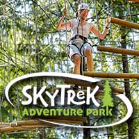 To SkyTrek Adventure Park , BC family attraction