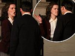 """Nicholas Hoult gets slapped in the face by Zoey Deutch while filming a dramatic scene overnight at the """"Rebel in the Rye"""" movie set in Madison Avenue, Manhattan.  Pictured: Nicholas Hoult and Zoey Deutch Ref: SPL1285063  180516   Picture by: Jose Perez / Splash News  Splash News and Pictures Los Angeles: 310-821-2666 New York: 212-619-2666 London: 870-934-2666 photodesk@splashnews.com"""