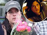 """Selma Blair wearing a """"Cruel Inventions"""" cap spotted with her new man leaving a Beverly Hills market with flowers and toilet paper.\n\nPictured: Selma Blair\nRef: SPL1285229  180516  \nPicture by: JLM / Splash News\n\nSplash News and Pictures\nLos Angeles: 310-821-2666\nNew York: 212-619-2666\nLondon: 870-934-2666\nphotodesk@splashnews.com\n"""