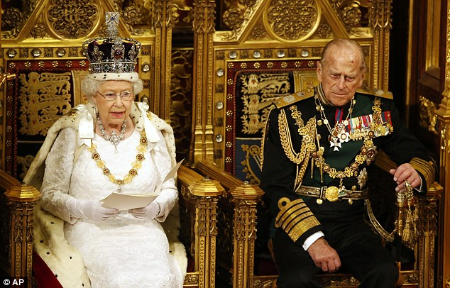 It is understood the Queen and Prince Philip were at the Palace at the time. They attended the State Opening of Parliament yesterday