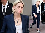 CANNES, FRANCE - MAY 18:  Actress Kristen Stewart leaves the Majestic Hotel during the 69th Annual Cannes Film Festival on May 18, 2016 in Cannes, .  (Photo by Pierre Suu/GC Images)