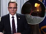 Kiefer sutherland and the explosion from the Designated Survivor trailer