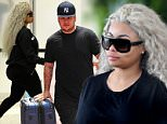 May 18, 2016: Pregnant Blac Chyna and fiance Rob Kardashian emerge from their Miami Beach hotel for the first time after Chyna hit back at internet trolls and body shamers. \nMandatory Credit: INFphoto.com Ref: infusmi-11/13