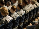 Soldiers attend a ceremony for the US Army's annual observance of Sexual Assault Awareness and Prevention Month on March 31, 2015 in Arlington, Virginia ©Chip Somodevilla (Getty/AFP/File)