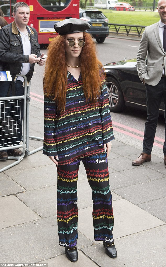 Is this in Jess-t? Another performer up for several gongs was Jess Glynne, who rocked rather an eclectic ensemble