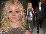 Celebrities attend the M&S Summer Ball, held at Old Billingsgate Hall. London. UK Featuring: Pixie Lott, Oliver Cheshire Where: London, United Kingdom When: 18 May 2016 Credit: WENN.com