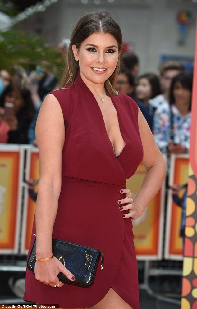 Buxom and leggy! The media personality, 33, was a guest at the premiere of The Nice Guys, where she certainly commanded attention