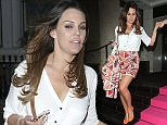 Picture Shows: Danielle Lloyd  May 18, 2016    Celebrity guests made their way out of Lorraine Kelly's High Street Fashion Awards in London, England.    Non-Exclusive  WORLDWIDE RIGHTS    Pictures by : FameFlynet UK © 2016  Tel : +44 (0)20 3551 5049  Email : info@fameflynet.uk.com