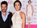Peter Andre and Emily MacDonagh attending the Lorraine High Street Fashion Awards, at the  Grand Connaught Rooms, 61-65 Great Queen Street, London. PRESS ASSOCIATION Photo. Picture date: Tuesday May 17, 2016. See PA Story SHOWBIZ Lorraine. Photo credit should read: Ian West/PA Wire